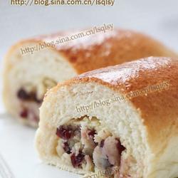 蔓越莓乳酪面包的做法[图]