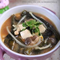 海带豆腐味噌汤的做法[图]