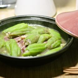 牛肉培根丝瓜煲的做法[图]