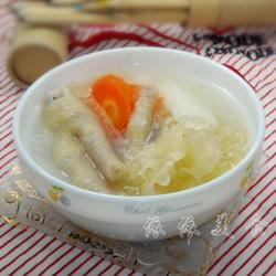 淮山銀耳雞腳湯的做法[圖]