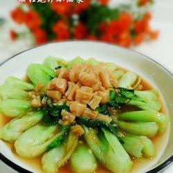 瑤柱鮑汁小油菜的做法[圖]