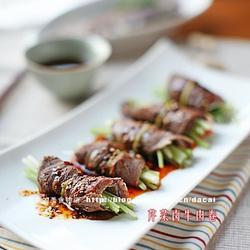 芹菜卤牛肉卷的做法[图]