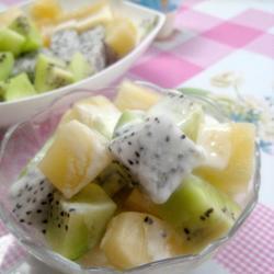 雪莲果水果沙拉的做法[图]