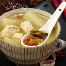 淡菜山药滋补汤的做法[图]
