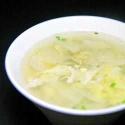 鸡蛋土豆片汤的做法[图]