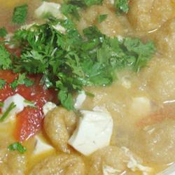 油面筋西红柿汤的做法[图]