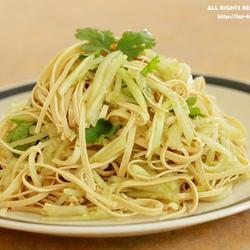 黃瓜拌豆腐皮的做法[圖]