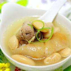 芸豆肘子汤的做法[图]