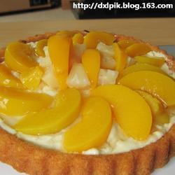 黄桃蛋糕塔的做法[图]