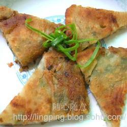 葱油虾皮饼的做法[图]