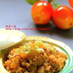 白萝卜炒饭的做法[图]