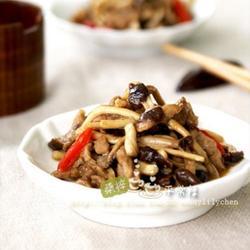 茶树菇爆鸭肉的做法[图]