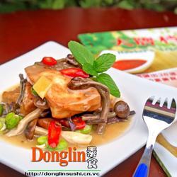 味噌蕨菜炖豆腐的做法[图]