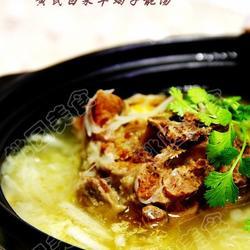 黄芪白菜羊蝎子靓汤的做法[图]