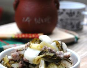 雪菜荸荠小炒肉