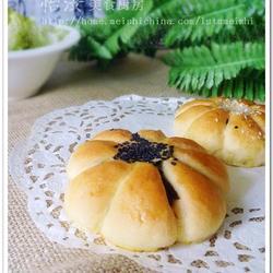 花样红豆沙面包的做法[图]