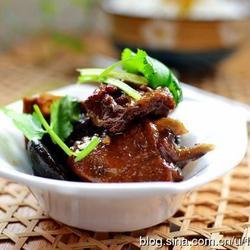 香菇烧鸭肉的做法[图]