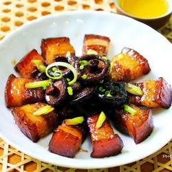 香菇红烧肉的做法[图]