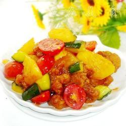 菠萝圣女果酸甜排骨的做法[图]