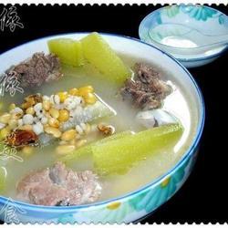 淡菜薏米节瓜汤的做法[图]