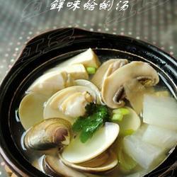 鲜味蛤蜊汤的做法[图]