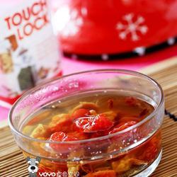 玫瑰茄圣女果花粉汤的做法[图]
