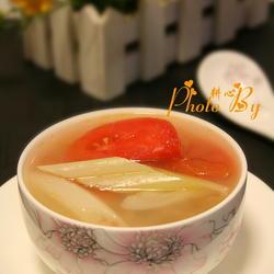 蔥白番茄洋蔥湯的做法[圖]