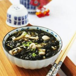 紫菜鲜菇汤的做法[图]