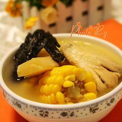 甘蔗粟米煲鸡汤的做法[图]