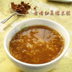 丹归红花糯米粥的做法[图]