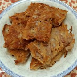 香煎芋头糯米糕的做法[图]
