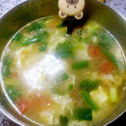 西紅柿雞蛋湯的做法[圖]