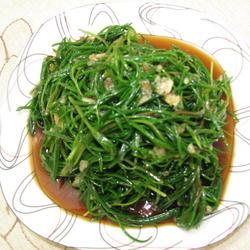 凉拌黄须菜的做法[图]