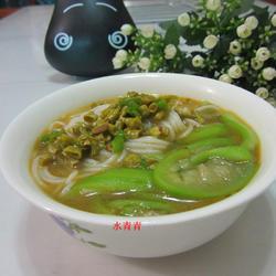丝瓜咸菜米线的做法[图]