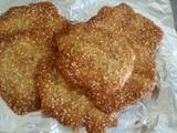 芝麻薄脆饼的做法[图]