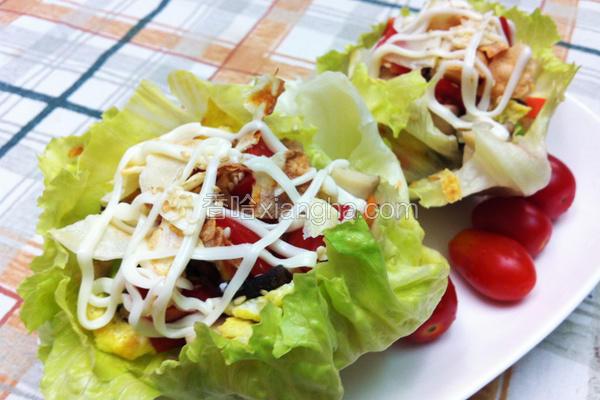 蔬菜洋芋虾松