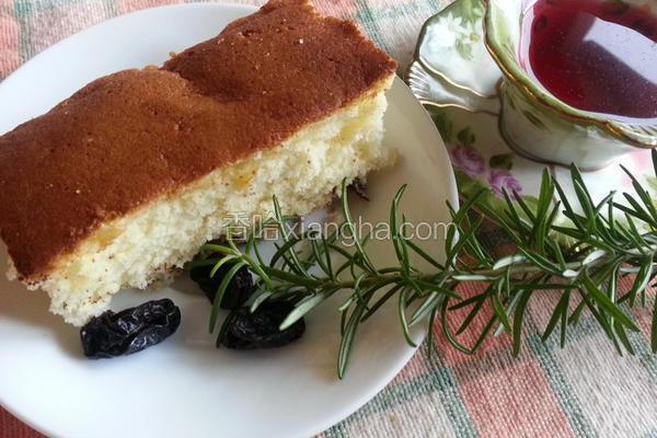 传统原味海绵蛋糕