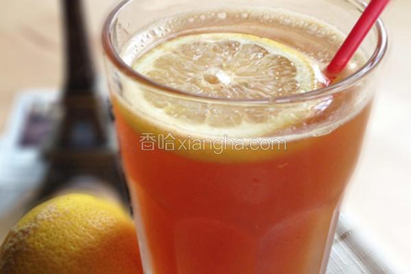 黄柠檬泡沫红茶