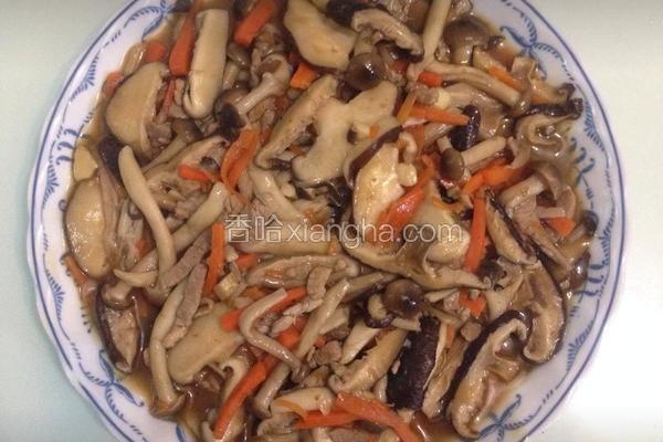 菇菇烩肉丝