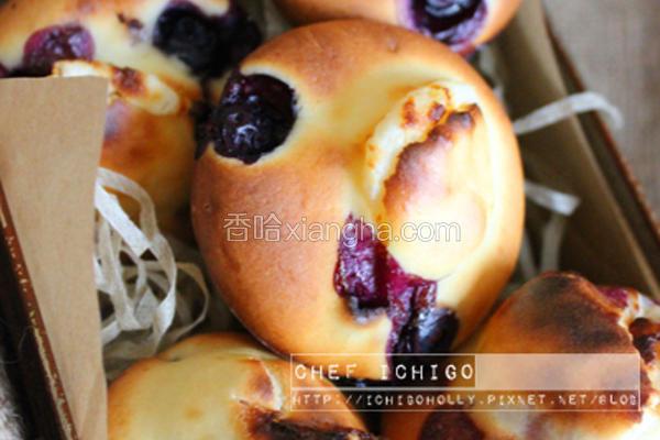 蓝莓奶油乳酪马芬