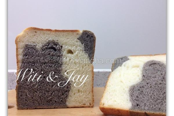乳牛纹吐司面包