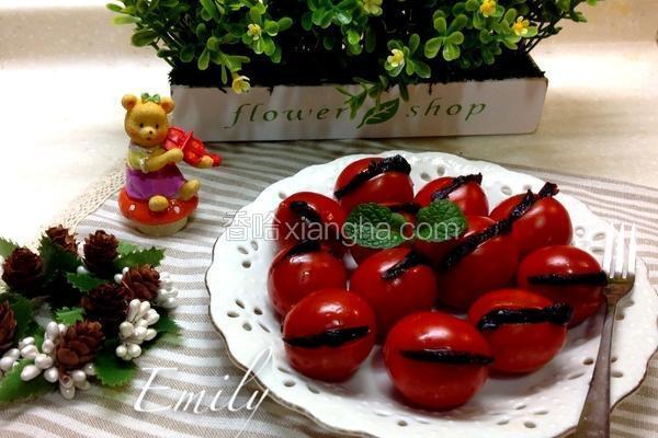 小番茄夹蜜饯