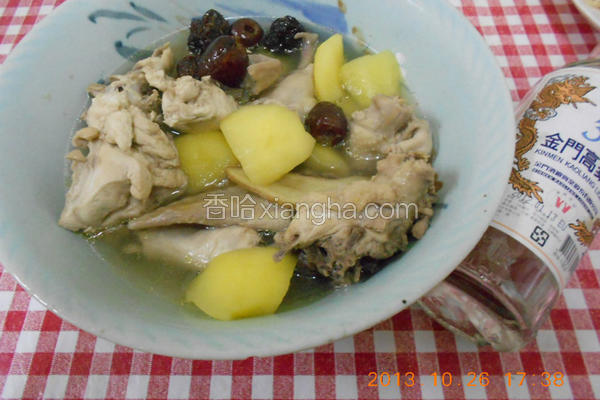 苹果红枣鸡汤