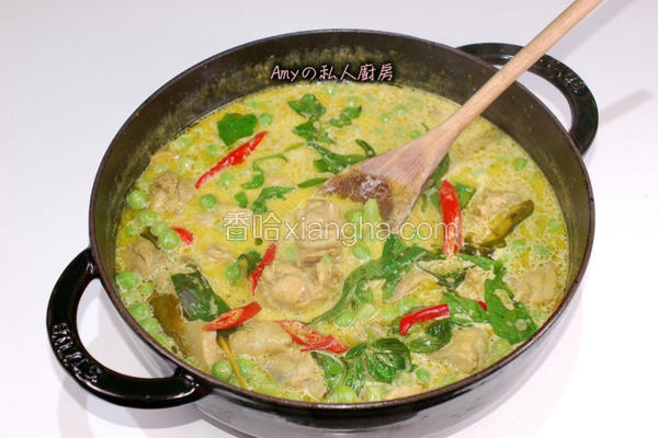泰式绿咖哩鸡