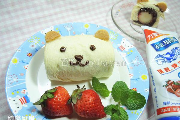 草莓红豆熊