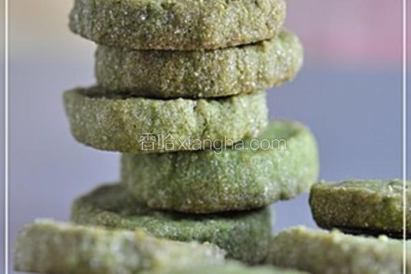 绿茶燕麦酥饼