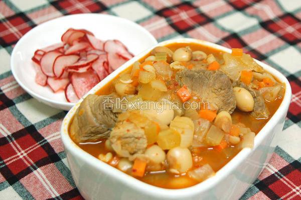 墨西哥式虎豆炖肉