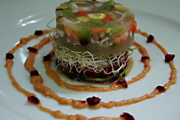 法式海鲜蔬果冻