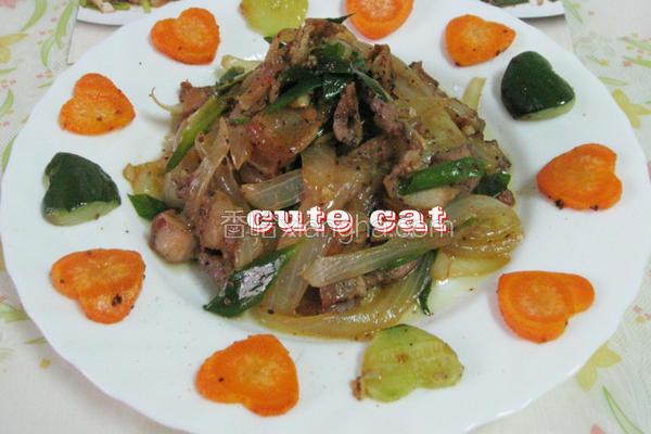 葱香咸猪肉
