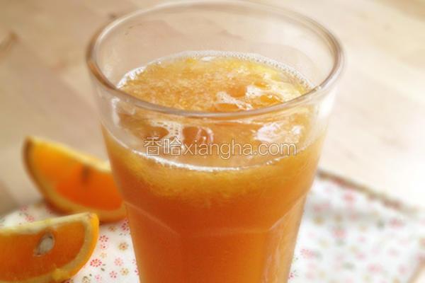 鲜榨柳橙冰茶